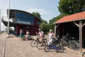 free bike hire at Marina Numansdorp